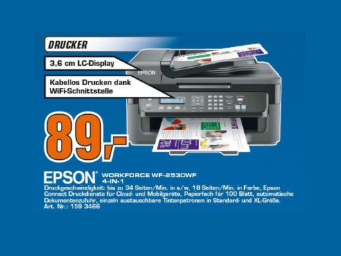Epson WorkForce WF-2530WF © Saturn