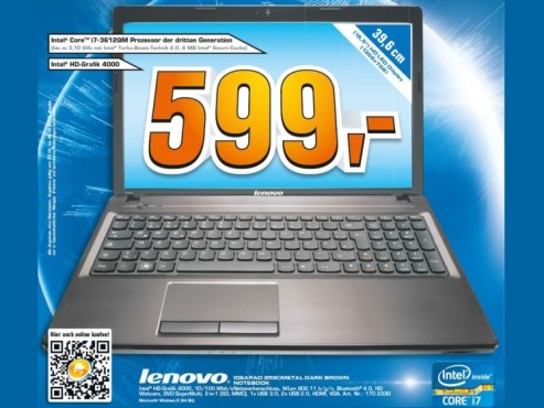 Lenovo IdeaPad G580 © Saturn