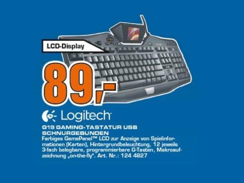 Logitech G19 Gaming Tastatur DE ©Saturn