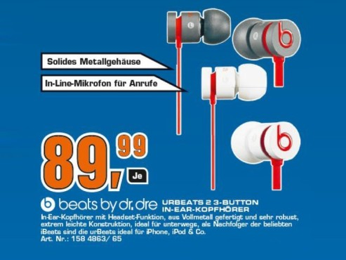 Monster urBeats by Dr. Dre with ControlTalk © Saturn