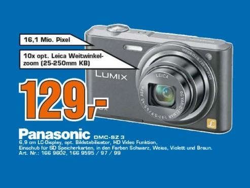 Panasonic Lumix DMC-SZ3 ©Saturn