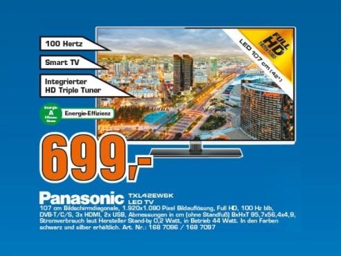 Panasonic TX-L42EW6K ©Saturn