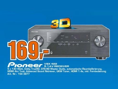 Pioneer VSX-422 ©Saturn