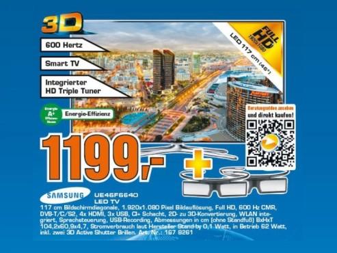 Samsung UE46F6640 ©Saturn