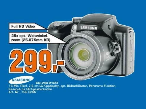 Samsung WB2100 ©Saturn