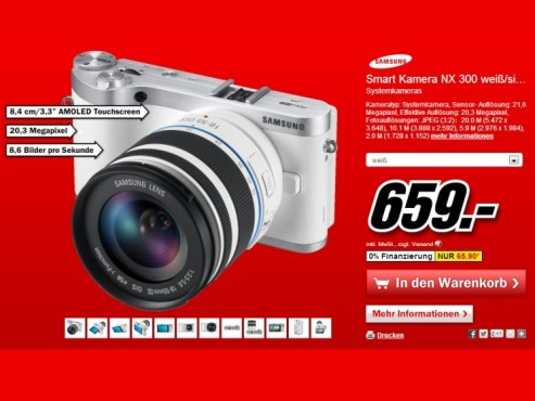 Samsung NX300 ©Media Markt
