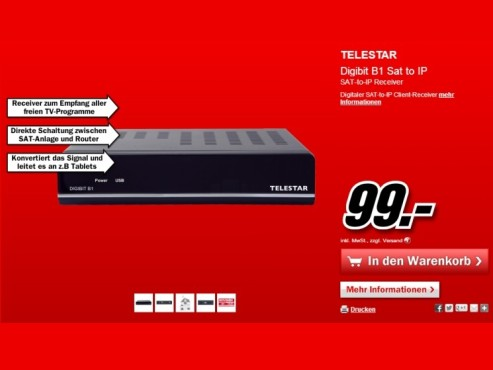 Telestar Digibit B1 © Media Markt