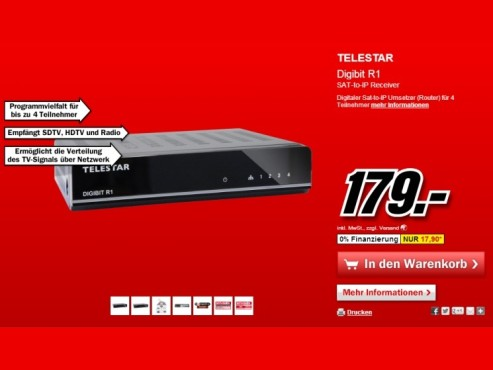 Telestar Digibit R1 © Media Markt