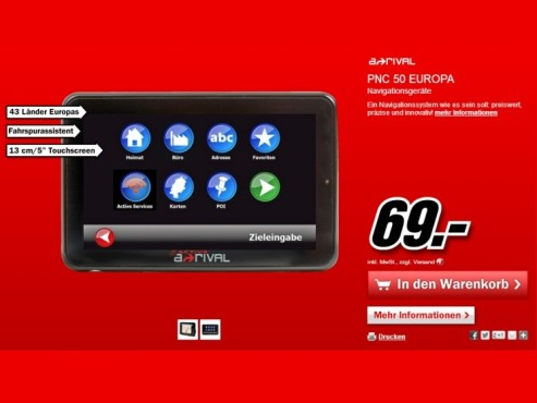 a-rival PNC50 Active © Media Markt