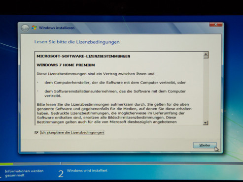 Windows 7 installieren © COMPUTER BILD