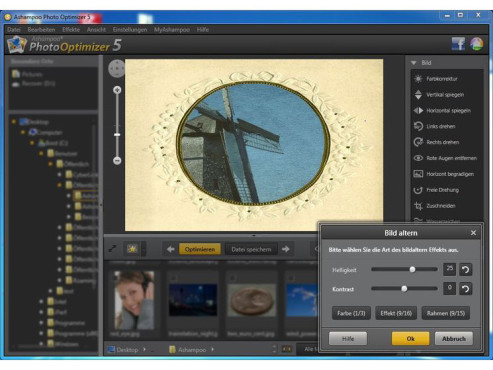 Ashampoo Photo Optimizer 5 © Screenshot / COMPUTER BILD