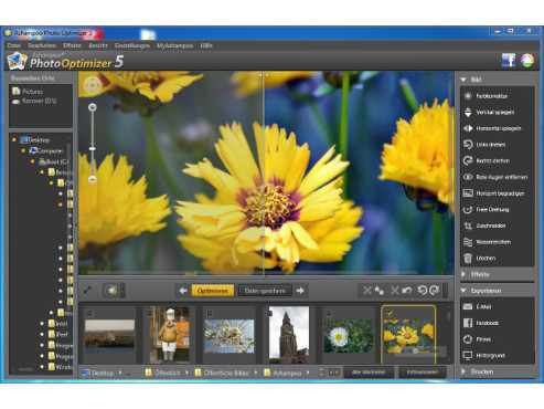Ashampoo Photo Optimizer 5 -Ein-Klick-Optimierung © Screenshot / COMPUTER BILD