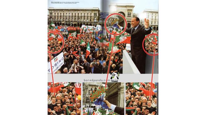 Berlusconi bei einer Rede ©boredpanda.com