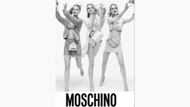Moschino-Werbung ©Instagram