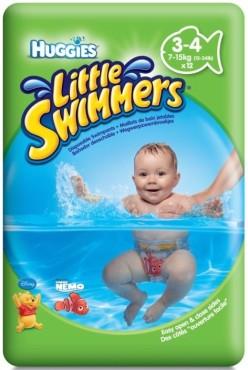 Baby schwimmt mit Hilfe der Mutter ©psdisasters.com