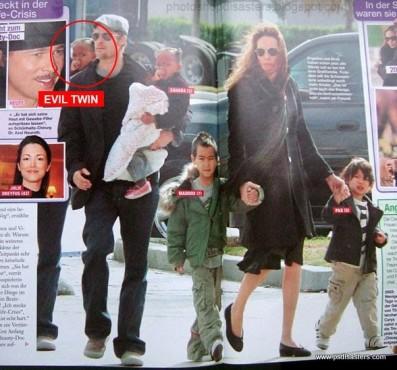 Familie Jolie/Pitt ©psdisasters.com