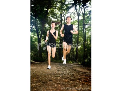 Fliegende Jogger
