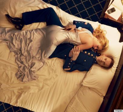 Frau und Mann liegen auf dem Bett ©psdisasters.com