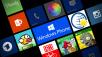 Windows Phone 8 Apps ©Microsoft, Afterlight Collective, DB Rent, ARD, Instagram, creating.se, wetterOnline, Rovio Entertainment, Gooobeee, Electronic Arts