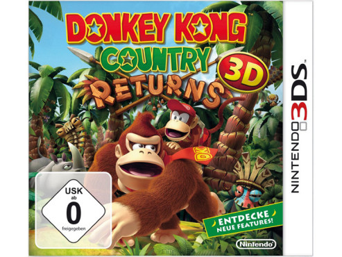Donkey Kong Country Returns 3D © Nintendo