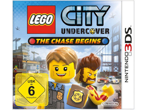 Lego City Undercover – The chase begins © Nintendo