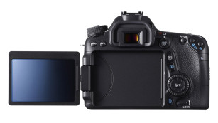 Rückansicht der Canon EOS 70D ©Canon