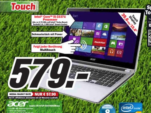 Acer Aspire V5-571P-53334G50Mass (NX.M49EG.022) ©Media Markt