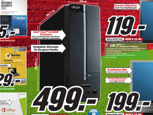 Acer Aspire XC 600 DT.SP5EG.011 © Media Markt