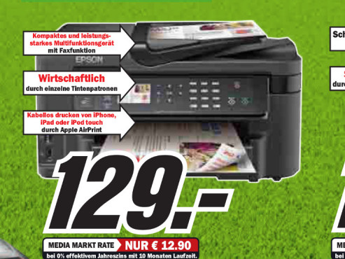 Epson WorkForce WF-3520DWF © Media Markt