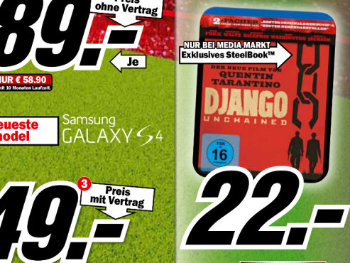 Film-Blu-ray © Media Markt