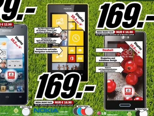 LG Optimus L5 II ©Media Markt