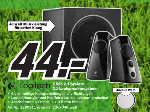 Logitech Z-523 ©Media Markt