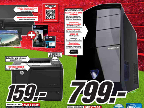 Microstar Professional i72000/8719 ©Media Markt
