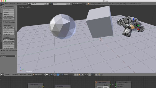 Blender: Mächtiges Tool für 3D-Objekte ©COMPUTER BILD