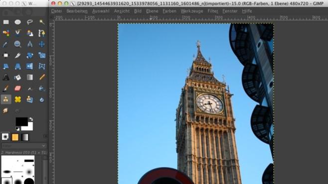 GIMP: Allrounder aus der Linux-Welt ©COMPUTER BILD