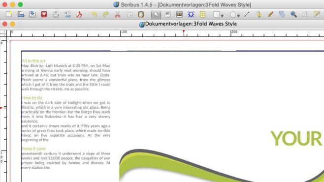 Scribus: Broschüren professionell gestalten ©COMPUTER BILD