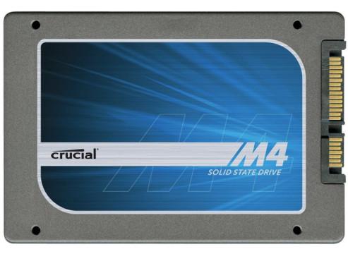 Crucial m4 128GB SSD 2.5 SATA III ©Crucial