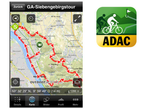 ADAC Fahrrad Tourenplaner ©ALPSTEIN Tourismus GmbH & Co.KG