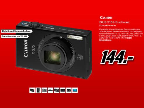 Canon Ixus 510 HS ©Media Markt