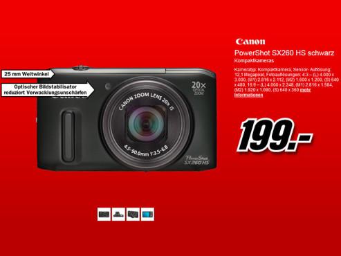 Canon PowerShot SX260 HS ©Media Markt