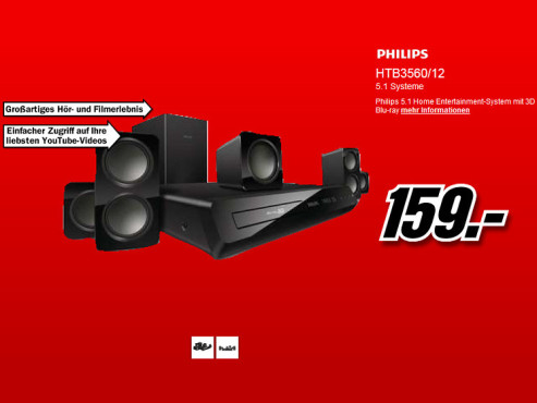 Philips HTB3560 © Media Markt