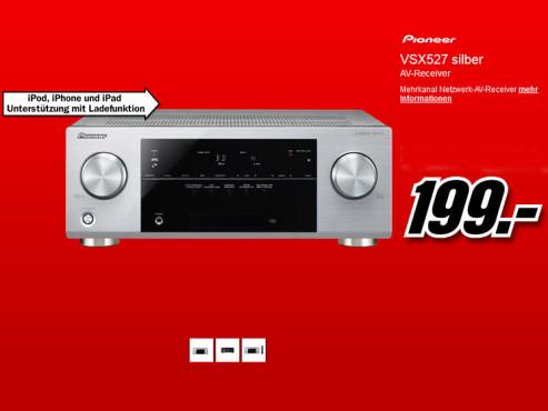 Pioneer VSX-527 ©Media Markt