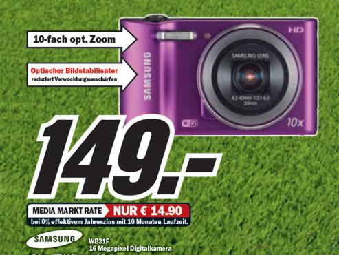 Samsung WB 31 ©Media Markt