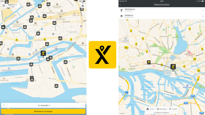 My Taxi © Intelligent Apps GmbH