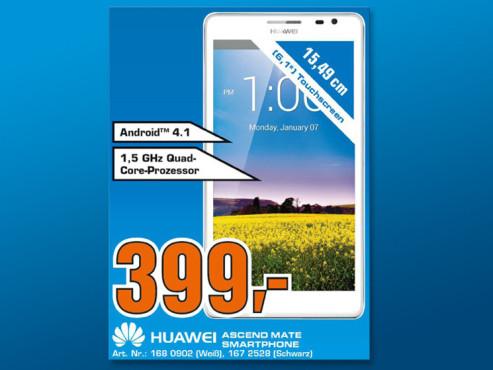 Huawei Ascend Mate ©COMPUTER BILD