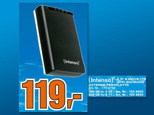 Intenso Memory 2 Move USB 3.0 1TB ©COMPUTER BILD