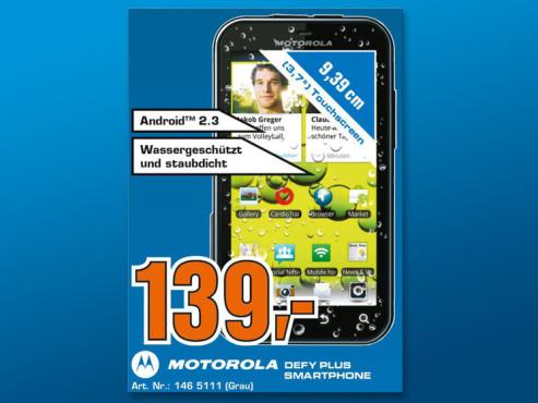 Motorola Defy+ ©COMPUTER BILD