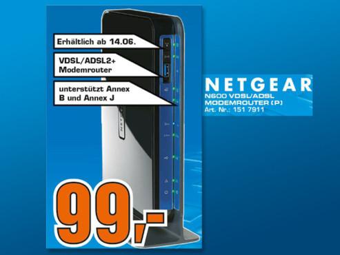Netgear N600 DGND3800B ©COMPUTER BILD