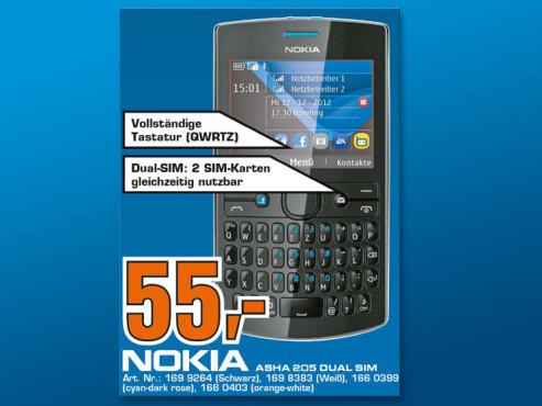 Nokia Asha 205 Dual SIM ©COMPUTER BILD