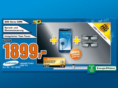 Samsung UE46F7090 ©COMPUTER BILD